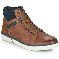 Redskins  ZOUK  mens Shoes (High-top Trainers) in Brown