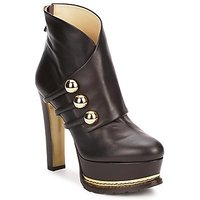 Moschino  MA2104  womens Low Ankle Boots in Brown