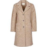 Cream  AMELIA COAT  womens Coat in Beige