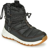 The North Face  W THERMOBALL LACE UP  womens Snow boots in Black