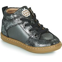 Shoo Pom  BOUBA GANG  girlss Childrens Shoes (High-top Trainers) in Silver