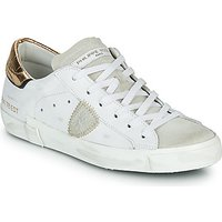 Philippe Model  PARIS X VEAU CROCO  womens Shoes (Trainers) in White