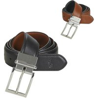 Polo Ralph Lauren  RV DRS BT SQ CASUAL SMOOTH LEATHER  men's Belt in Black