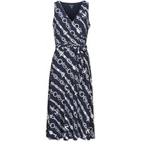 Lauren Ralph Lauren  CARANA  women's Long Dress in Blue