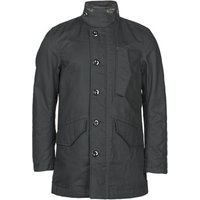 G-Star Raw  SCUTAR UTILITY PDD TRENCH  mens Trench Coat in Black