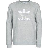 adidas  TREFOIL CREW  men's Sweatshirt in Grey