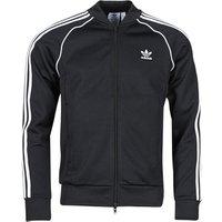 adidas  SST TT P BLUE  men's Tracksuit jacket in Black