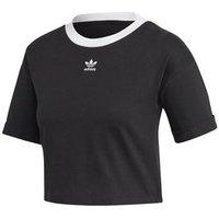 adidas  M10 Crop Top  womens T shirt in Black