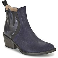 Casta  DONNA  women's Low Ankle Boots in Blue