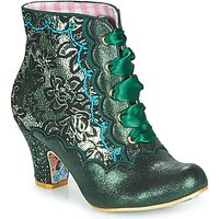 Irregular Choice  Chinese Whispers  women's Low Ankle Boots in Green
