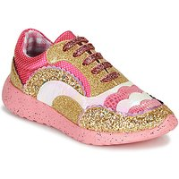 Irregular Choice  Jigsaw  women's Shoes (Trainers) in Pink