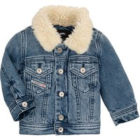 Diesel  JESKI  girlss Childrens jacket in Blue
