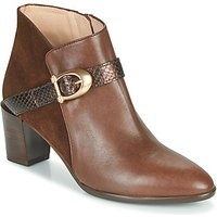 Hispanitas  PIRINEO  women's Low Ankle Boots in Brown