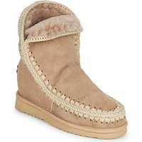 Mou  ESKIMO INNER WEDGE SHORT  womens Mid Boots in Beige