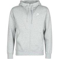 Nike  M NSW CLUB HOODIE FZ BB  men's Sweatshirt in Grey