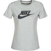 Nike  W NSW TEE ESSNTL ICON FUTUR  women's T shirt in Grey