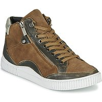 Regard  ISLANDE V2 BONGO CHAMOIS  womens Shoes (High-top Trainers) in Brown