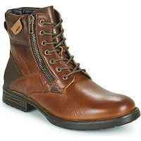 Casual Attitude  NABEIL  men's Mid Boots in Brown