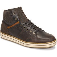 Casual Attitude  NOURDON  men's Shoes (High-top Trainers) in Brown