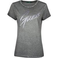 Guess  SS CN IVONNE TEE  women's T shirt in Black