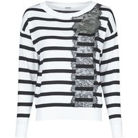 Guess  MARIA RN LS SWTR  women's Sweater in White
