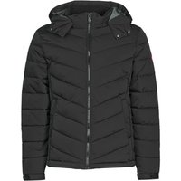 Guess  STRETCH PUFFA HOODED  men's Jacket in Black