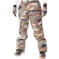 Oakley  Warning Camo Arrowhead 10K Snowboarding Pants  mens Trousers in Brown