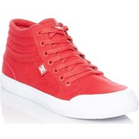 DC Shoes  Evan Smith Red Signature Series TX Kids Hi Top Shoe  boyss Childrens Shoes (High-top Trainers) in Red