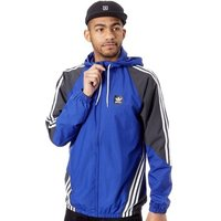 adidas  Active Blue-Dgh Solid Grey-White Insley Jacket  men's Tracksuit jacket in Blue