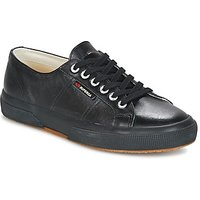 Superga  2750 LUXE EDITION  men's Shoes (Trainers) in Black