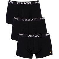 Lyle   Scott  3 Pack Trunks  men's Boxer shorts in Black