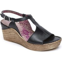 Woolovers  Peach Melba 2 Sandals  womens Sandals in Black