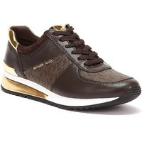 MICHAEL Michael Kors  Allie Wrap Womens Brown Trainers  womens Trainers in Brown