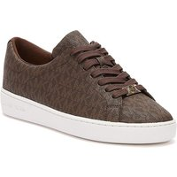 MICHAEL Michael Kors  Keaton Logo Womens Brown Trainers  women's Shoes (Trainers) in Brown