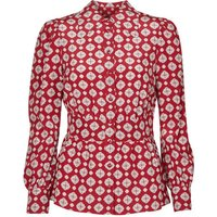 MICHAEL Michael Kors  LUX PINDOT MED TOP  womens Blouse in Red