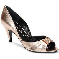 Karine Arabian  MONTEREY  women's Court Shoes in Gold
