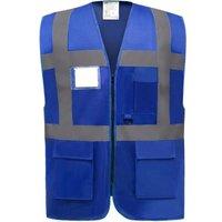 Yoko  Gilet  Multifonction Haute Visibilite  women's  in Blue