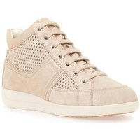 Geox  Myria  womens Shoes (High-top Trainers) in Beige