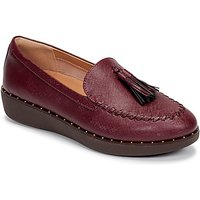FitFlop  PETRINA PATENT LOAFERS  women's Loafers / Casual Shoes in Red