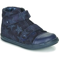 Little Mary  ADELINE  girls's Children's Shoes (High-top Trainers) in Blue