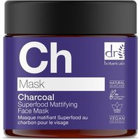 Dr Botanicals  Charcoal Superfood Mattifying Face Mask 60mls  women's  in multicolour