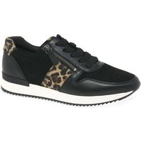 Gabor  Lulea Womens Casual Trainers  women's Shoes (Trainers) in Black