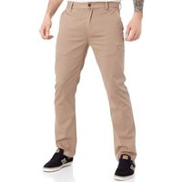 Etnies  Khaki FA18 Essential Straight Chino Pant  men's Trousers in Brown