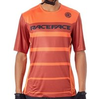 Race Face  Rust Indy Short Sleeved MTB Jersey  mens T shirt in Orange