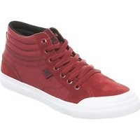 DC Shoes  Evan Smith Deep Red Collaboration Kids Hi Top Shoe  boyss Childrens Shoes (High-top Trainers) in Red