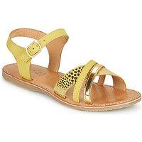 Geox  J SANDAL EOLIE GIRL  girls's Children's Sandals in Yellow