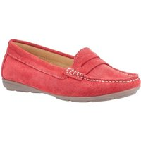 Hush puppies  HPW1000-128-2-3 Margot  women's Loafers / Casual Shoes in Red