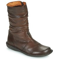 Casual Attitude  NIELOO  women's Mid Boots in Brown