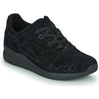 Asics  GEL LYTE III  women's Shoes (Trainers) in Black