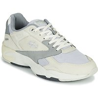 Lacoste  STORM 96 LO 0721 1 G SMA  men's Shoes (Trainers) in Beige
